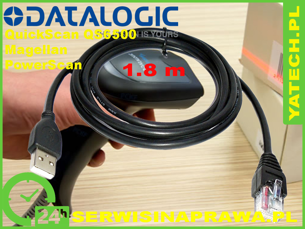 1000x750 Kabel USB Datalogic QS6500